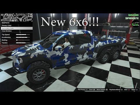 GTA 5 - DLC Vehicle Customization (Vapid Caracara) and Review
