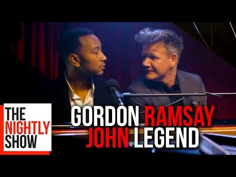 John Legend Sings Classic Gordon Ramsay...