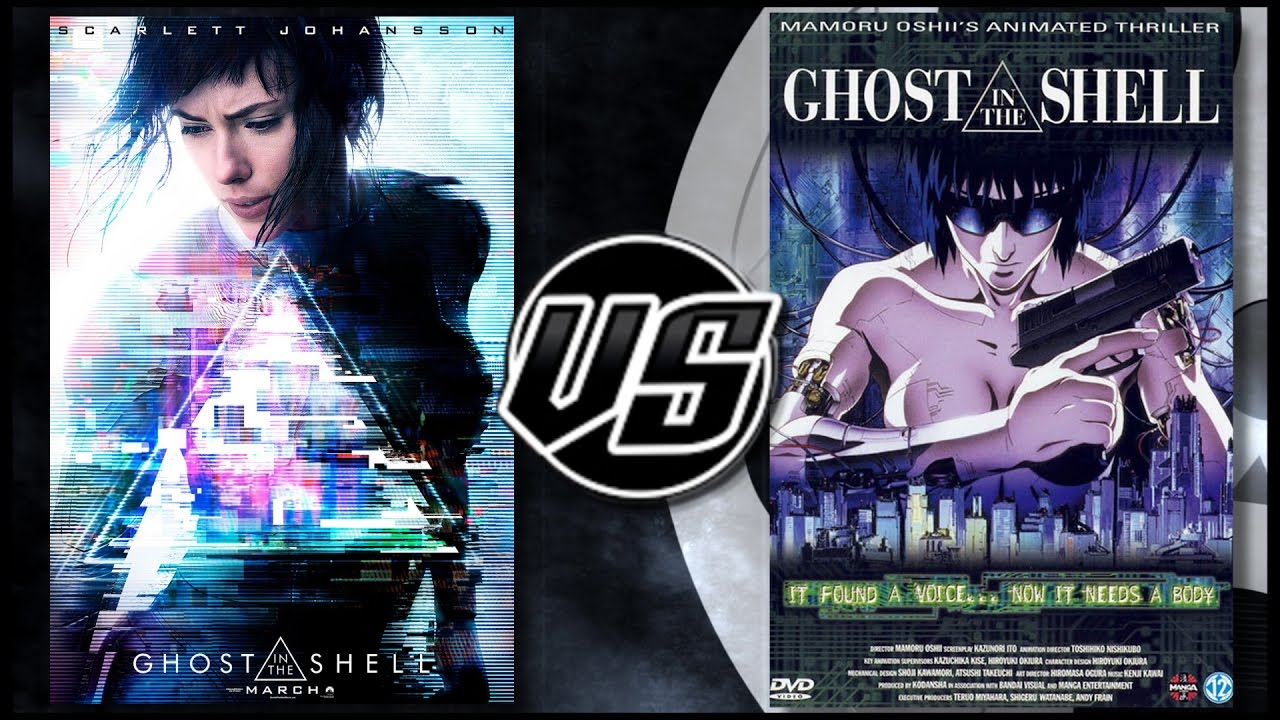 Ghost In The Shell 2017 Vs Ghost In The Shell 1995 Youtube