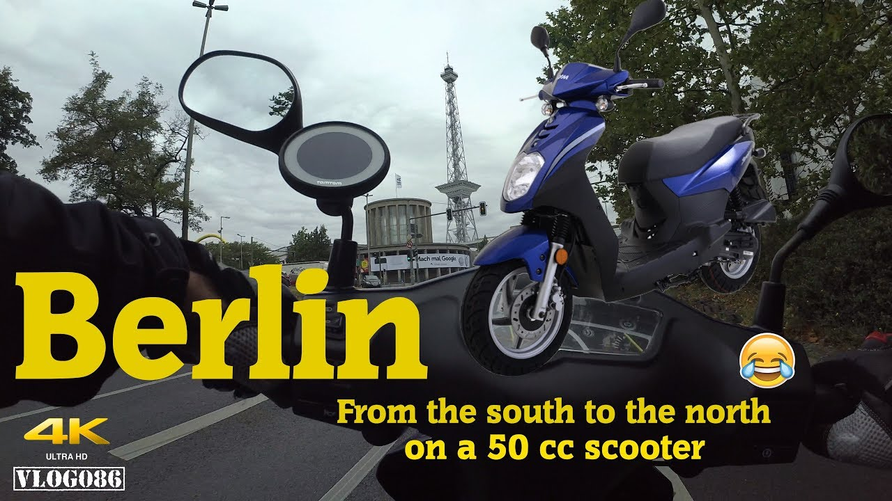 Green Berlin 2018 - From South To North On A Scooter - VLOG086 [4K]