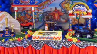 Decoração Hot Wheels - Art Festas DF