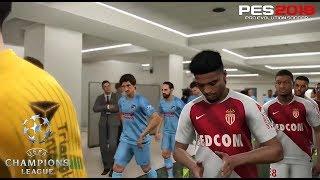 PES 2019 | UEFA Champions League | Monaco vs Atletico De Madrid | Gameplay PS4