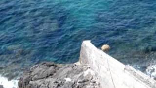 San Felice Circeo,  cemento fino al mare in località Quarto Caldo, zona del faro
