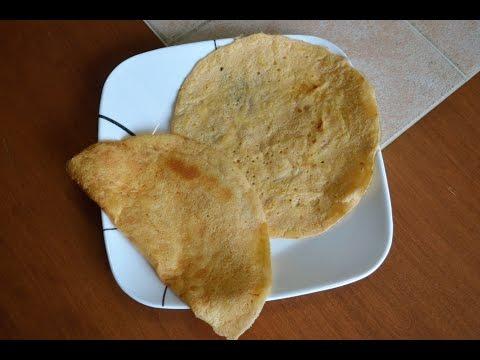 Red Lentil Tortilla (Chapati) - SCD, Low Card, Sugar Free, Grain Free, Gluten Free