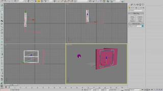 How to make see-through preset windows in 3ds max
