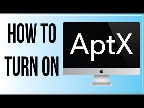 No AptX Bluetooth on Macbook / iMac? Here's how to turn it