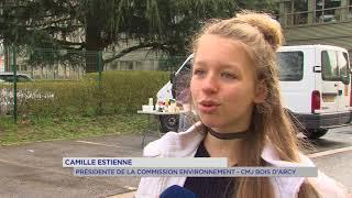 Bois d'Arcy : nettoyage de la nature