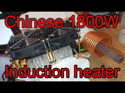Unboxing a Chinese 1800 Watt Induction Heater