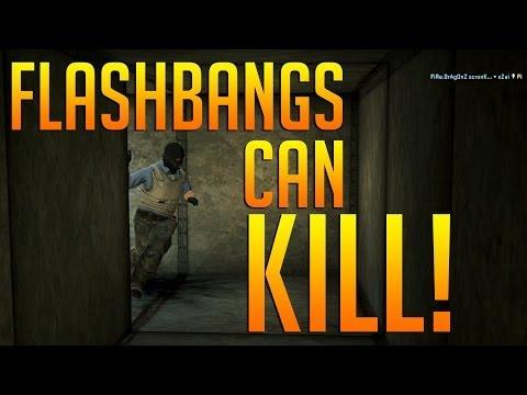 CS:GO - Flashbangs Can Kill! #2
