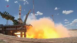 Пуск РКН «Союз 2 1а» с КА «Канопус В ИК» и 72 малыми спутниками