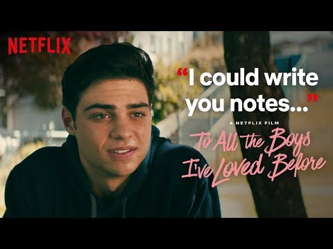 Peter and Lara Jean Sign the Contract | To All the Boys I've Loved Before | Netflix