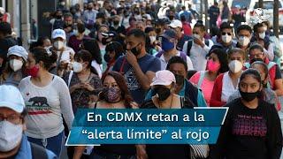 Son los claroscuros de una CDMX que desafía al semáforo naranja, con 200 mil 704 casos positivos desde marzo al 27 de noviembre, y en las últimas semanas con un crecimiento en hospitalizaciones y decesos