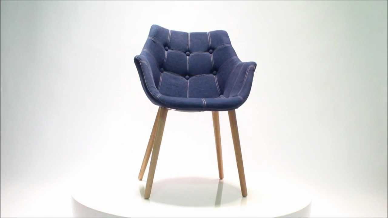 Stoel Zuiver Eleven : Eleven stoel jeans zuiver eyoba designerstoelen youtube
