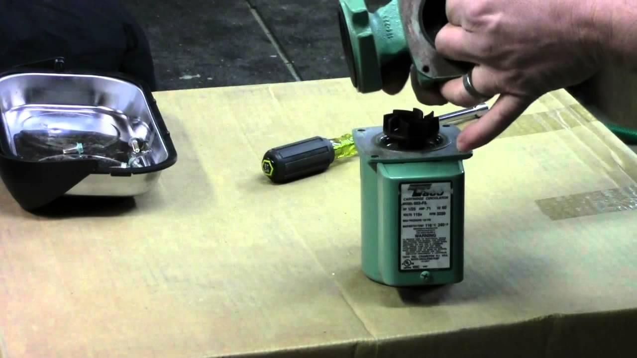 hight resolution of taco 007 circulator pump repair