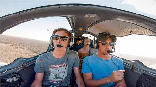 Extremely Hot and Turbulent over Namibia - Flying the Sling 4