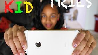iPhone 6 and 6 Plus Bend Test by a Kid