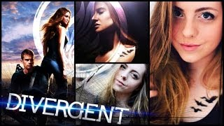 DIVERGENT | TRIS Makeup, Tattoo, Hair & Outfit! Thumbnail