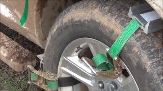 How to use TruckClaws II Emergency Tire Traction Aid