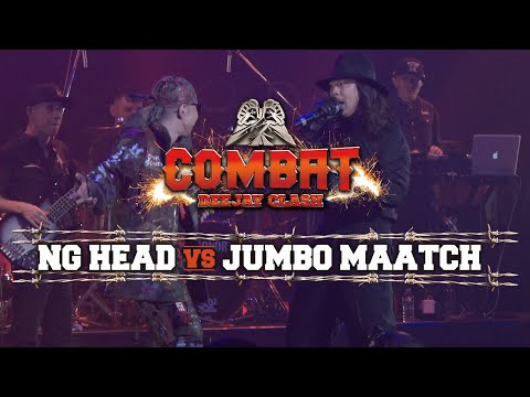 COMBAT -DEEJAY CLASH- 'NG HEAD vs JUMBO MAATCH'  Short Ver.