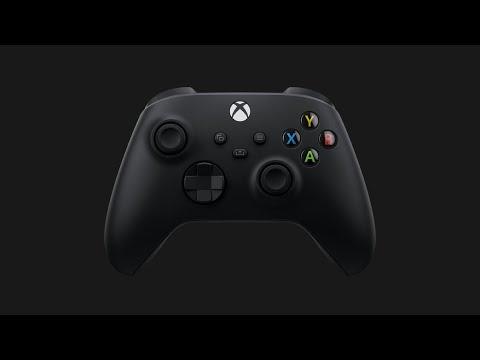 Microsoft представили новый геймпад XBox Series X