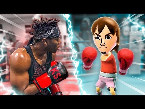 Training For My Next Fight (WII BOXING)