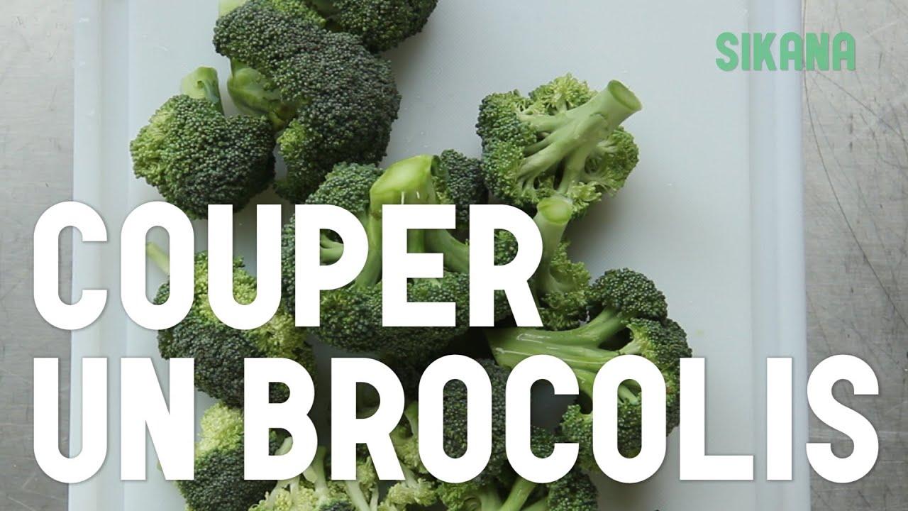 Couper Un Brocoli Cuisiner Des Legumes Youtube
