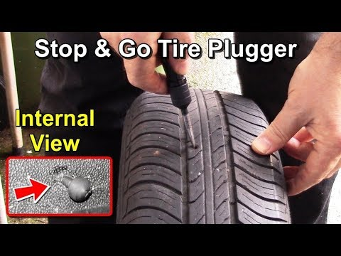 Stop & Go Tyre Plugger Tutorial with Internal Views thumbnail