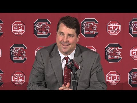 Will Muschamp National Signing Day News Conference — 2/7/18