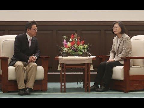 蔡英文總統會見陳破空和民運代表團:坚定捍卫台湾民主,支持中国民主化!六四30周年前夕