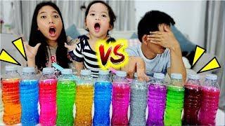 แข่งทำสไลม์-3-สี-ใยบัว-vs-พ่อแบท-ของใครจะสวยกว่ากัน-3-colors-of-glue-slime-challenge