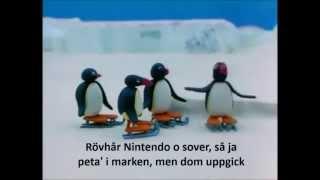 Pingu, den pilske konståkaren (Pingu med svensk text)
