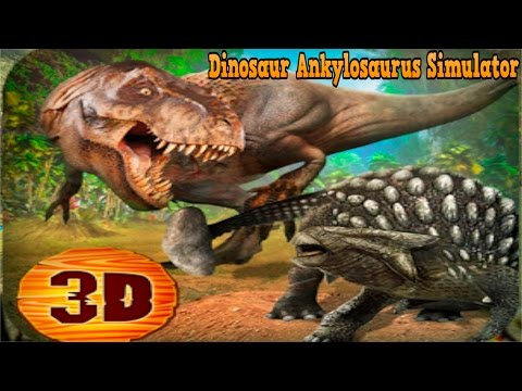 🐲👍Dinosaur Ankylosaurus Simulator - By WonderAnimals Simulation - iTunes/Android