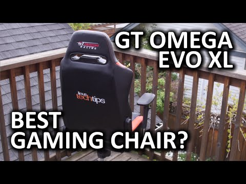 Gt Omega Evo Xl Gaming Chair Best Of The Bunch Youtube