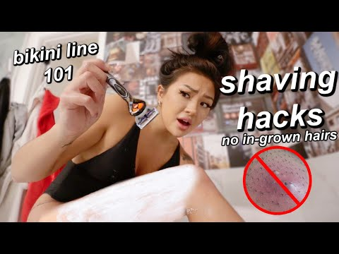 """HOW TO SHAVE """"DOWN THERE"""" (my shaving routine)"""