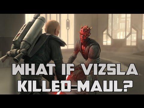 Star Wars Rethink: What if Vizsla Killed Maul?