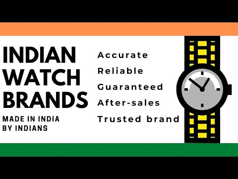 Indian Watch Brands And Companies Made In India By Indians