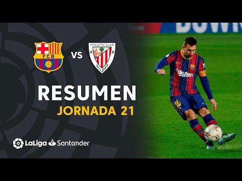 Resumen de FC Barcelona vs Athletic Club (2-1)