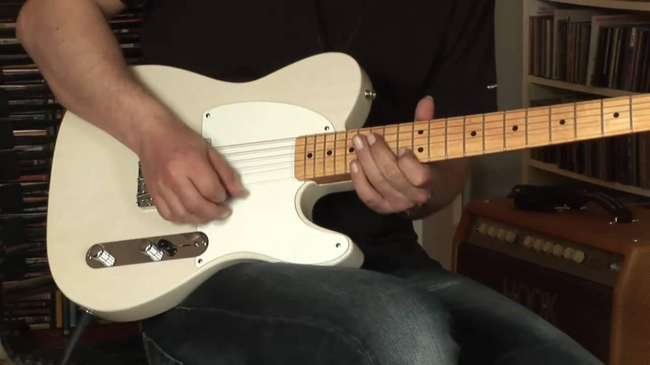Fender Esquire Mexico plus Mesa Boogie Maverick Amp
