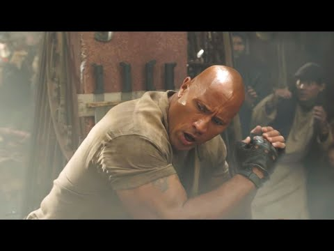 jumanji:-the-next-level-(2019)---the-rock-(spencers-grandfather)-fight-scene-|-hd-1080p-|