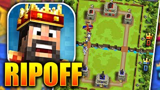 """the BIGGEST """"Clash Royale"""" RIP OFF EVER! WHY IS THIS EVEN A GAME!?"""