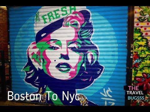 Boston To NYC By Bolt Bus / Air BNB / Brooklyn
