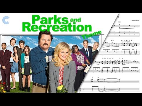 Piano - Parks and Recreation - Theme - Sheet Music, Chords, & Vocals