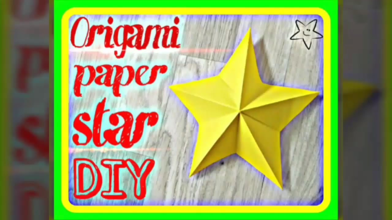 How to make an origami star box. ---------- Origami: Star Box ... | 720x1280