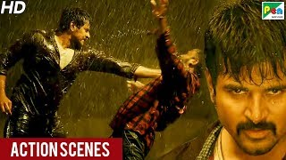 Daring Policewala (Kaaki Sattai) Action Scenes | New Hindi Dubbed Movie | Sivakarthikeyan, Sri Divy