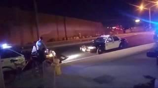 Cops Harassing Man On Bike Sheriff's On Scene