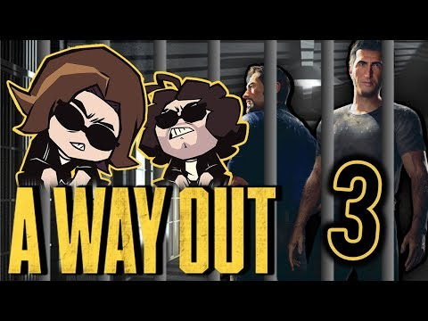 A Way Out: Good Toilet - PART 3 - Game Grumps |