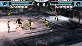 Fifa Street 2 - Walkthrough - Part 1 - Gameplay - English - PSP