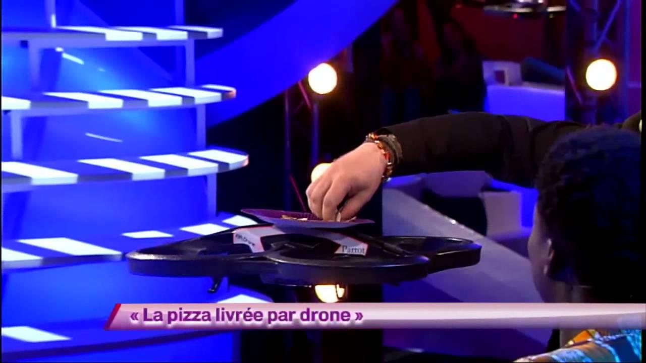 Arnaud Tsamere - La pizza livrée par drone #ONDAR