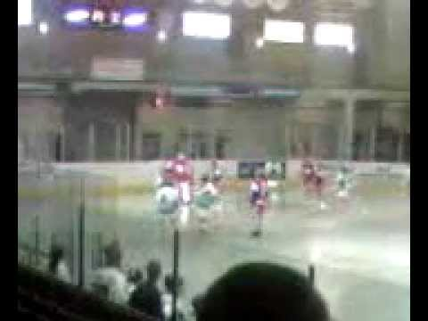 Lacrosse::: Burnaby Lakers Score Vs. New Westminister Salmonbellies