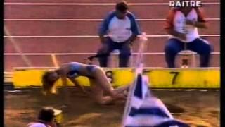 ATLETICA MONDIALI ATENE 1997 LUNGO BRONZO PER FIONA MAY